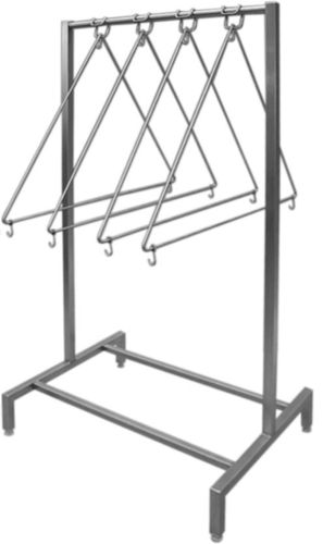 Apron holder for 10 aprons