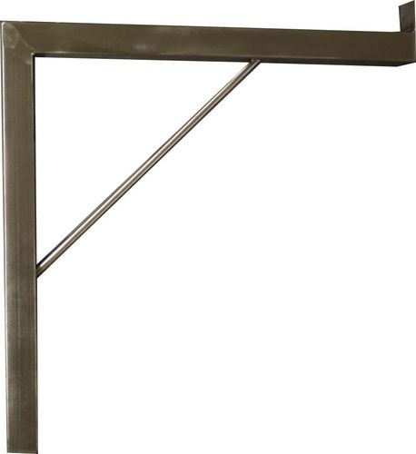 Wall console made of stainless steel 400x400 mm